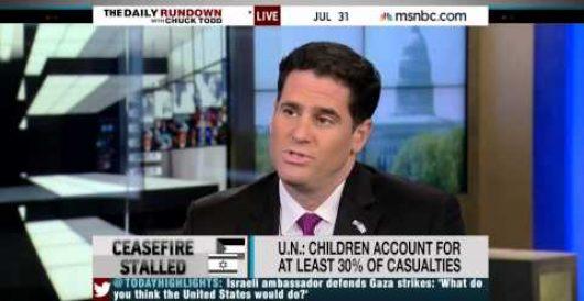 Why won't MSNBC correct false anti-Israel Gaza narrative? by Jeff Dunetz