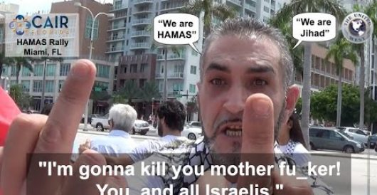 Video: Jihadi chants, threats to Jewish reporter in Miami by J.E. Dyer