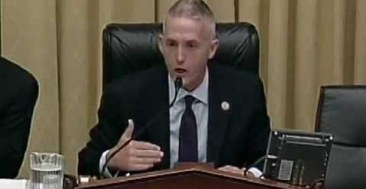 Trey Gowdy grills law professor on ***holes and conflict of interest (Video)