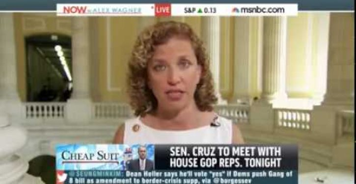 Debbie Wasserman Schultz claims Obama 'doesn't do his job' very often (Video)