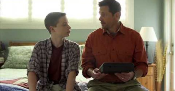 You'll never guess what this gun owner is showing his son (Video)