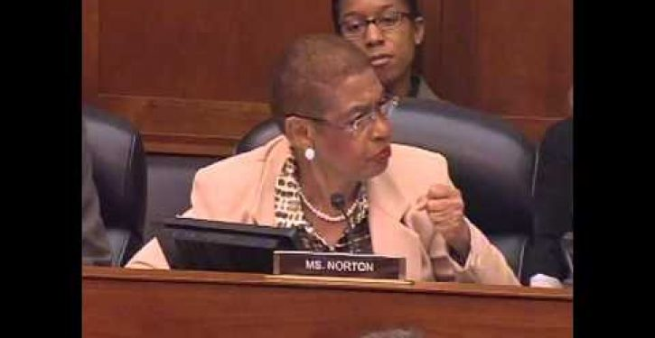 Eleanor Holmes Norton: Congress has 'no right to know' executive branch's business