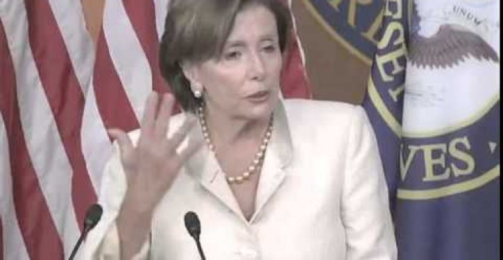 Tweet of the Day: Pelosi waxes biblical again, invokes Moses this time (Video)