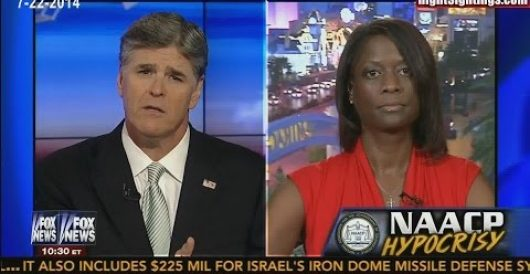 Watch me call out NAACP for political segregation on Hannity (Video) by Deneen Borelli