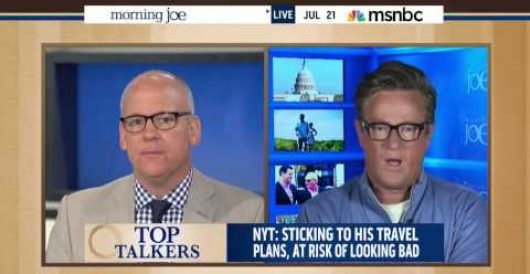 Obama takes flak on MSNBC for going ahead with vacation plans in midst of world crises (Video) by Michael Dorstewitz