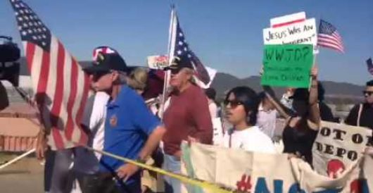 Developing in Murrieta: Americans arrested to make way for illegal immigrants *Update* by Renee Nal