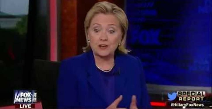 In FNC interview, Hillary attempts to explain remark about Taliban 5 not being 'threat to U.S.'