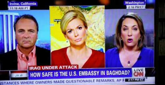 CNN reporter on all the 'sh*t' — er, stuff — U.S. might need in dealing with Iraq by LU Staff