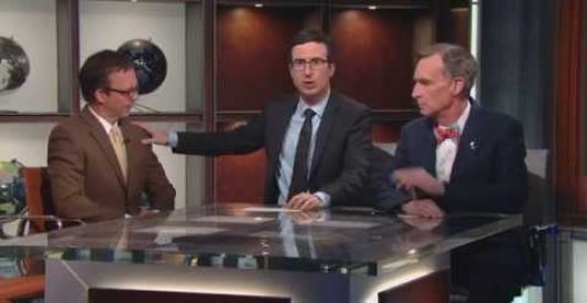 HBO's John Oliver: Who gives sh*t if 42% don't believe climate change is fact? by Howard Portnoy