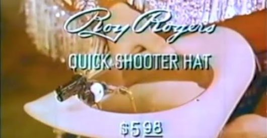A word from our sponsor: Roy Rogers hat gun by Howard Portnoy