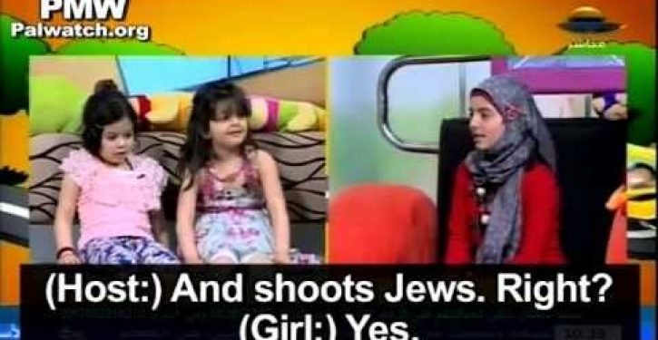 Hamas children's show: 'Punch,' 'smash' and 'shoot' Jews to 'liberate Palestine'