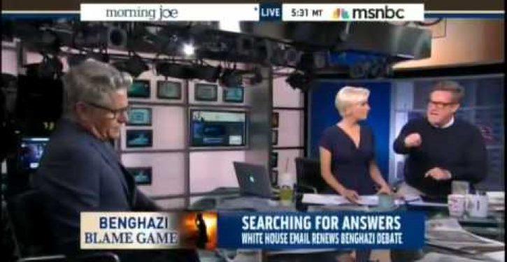 Watch Joe Scarborough mix it up with Donny Deutsch over Benghazi