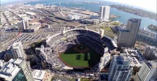 Navy SEALs parachute into PETCO Stadium for Opening Day by J.E. Dyer