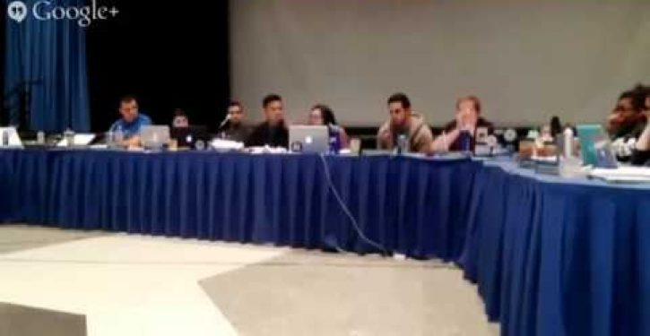 Video: UCLA student literally hysterical after losing BDS vote