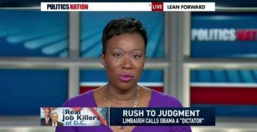 MSNBC's Joy Reid claims GOP wants America to fail so Obama will look bad by LU Staff