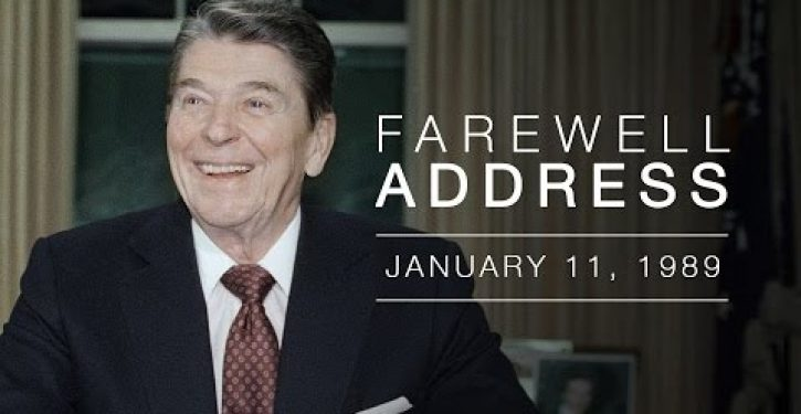 Reagan Farewell Address @ 25: Conservatism works