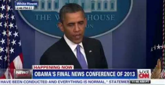 Some video highlights (lowlights?) of Obama's presser today by LU Staff