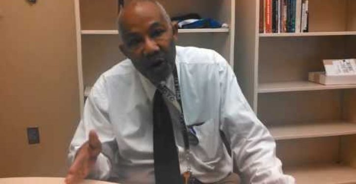 College reprimands black professor for racial harassment of white students