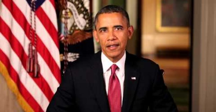 Obama omits important word from his reading of the Gettysburg Address