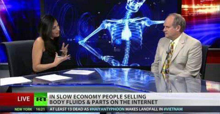Bodily fluids sell for big bucks online
