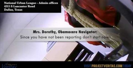 Obamacare Navigators caught on film laundering taxpayer premium-subsidies by Mike DeVine