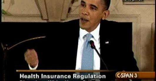 Smoking gun: 2010 video of Obama admitting 8 to 9 million Americans will lose coverage under ACA by LU Staff