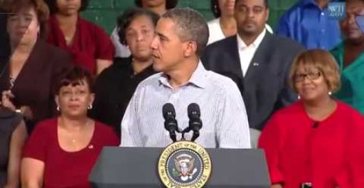 Obama complains of personally being 'burned' by ObamaCare by T. Kevin Whiteman