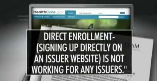 CMS memo obtained by CBS shows that 6 people signed up for Obamacare on Day 1 by Howard Portnoy