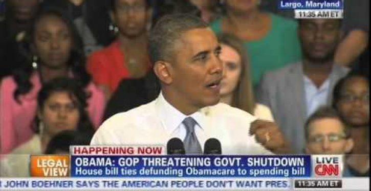 Obama: 'I've bent over backwards to work with GOP'
