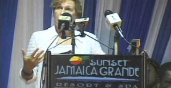 Union president attacks 'austerity-mongers' in speech at Jamaica resort