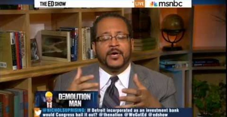 MSNBC's Dyson onto something in blaming racism for Detroit's decline