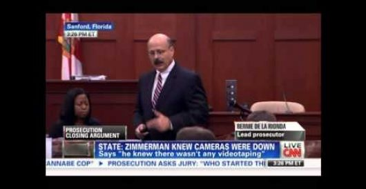 To prove Zimmerman was racist against blacks, prosecutor engages in racism against blacks by Howard Portnoy