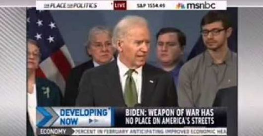 Biden tells audience Gabby Giffords was 'mortally wounded' by Howard Portnoy