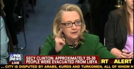 WH defends Hillary's 'what difference does it make' remark on Benghazi raid by Howard Portnoy