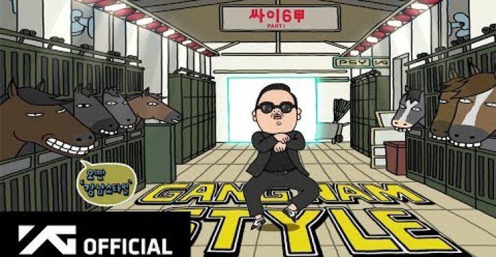 Gentlemen, don't Gangnam until you drop!