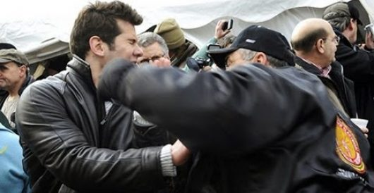 Union thugs go on violent rampage over right to work bill, assault Steven Crowder by Joe Newby