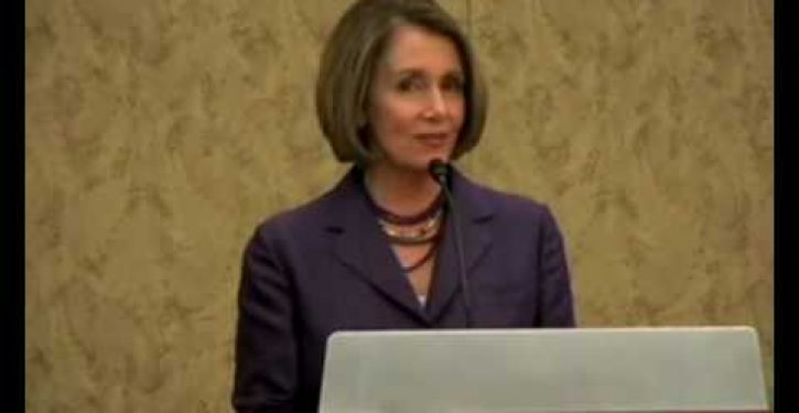 Nancy Pelosi's 'Seinfeld' moment