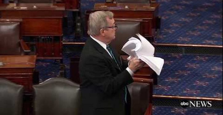 Oh, dear. Look what Dick Durbin – guy squawking about handwritten bill changes – did to Dodd-Frank