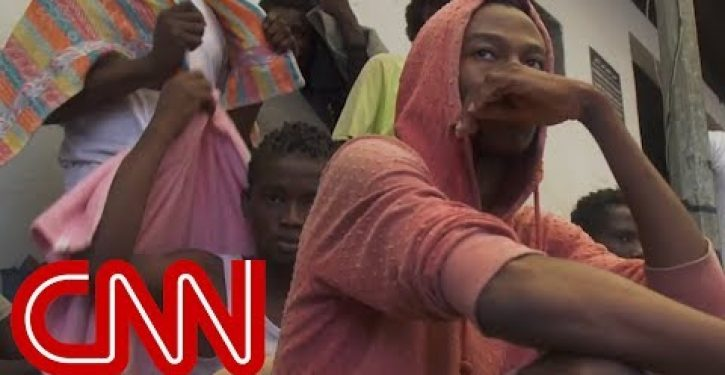 Video of migrants sold in apparent slave auction in Libya provokes outrage worldwide