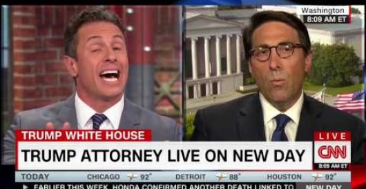 CNN's Chris Cuomo: OK for Hillary to get opposition research on Trump but not vice versa by Joe Newby