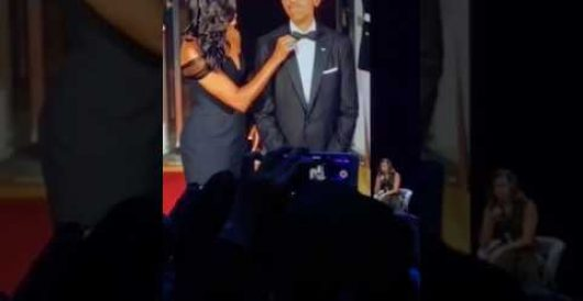 Michelle Obama makes appearance at Apple Conference, takes shot at Trump by Rusty Weiss