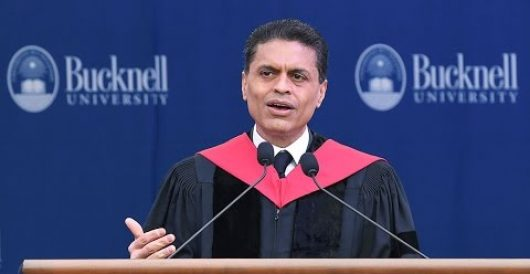 CNN's Fareed Zakaria admits liberals only pretend to be tolerant by Hombre Sinnombre