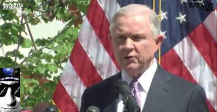 AG Jeff Sessions warns 'border is not open,' illustrates with 367 ICE arrests in one week
