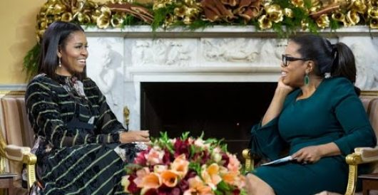 Michelle Obama tells Oprah her hubby is 'the parent,' American people his hurt little children by Ben Bowles