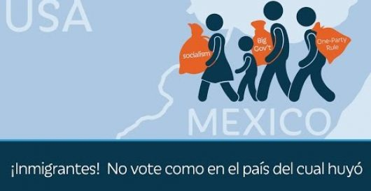 Video: Immigrants, don't vote for what you fled by LU Staff