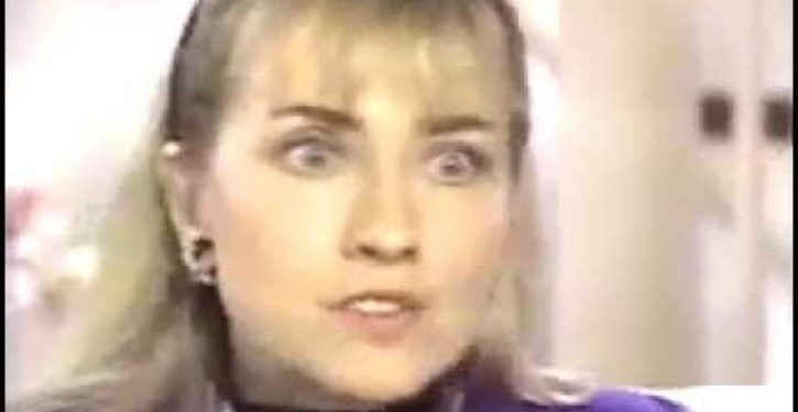 Flashback: Will the real Hillary Clinton please stand up?