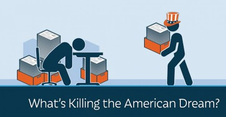 Video: Prager U asks what's killing the American dream?