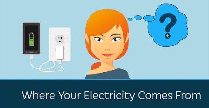 Video: Prager U. on where your electricity comes from