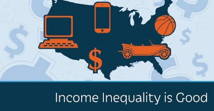 Video: Income inequality is good