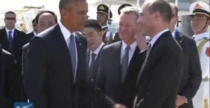 Obama dissed at G20: Denied red carpet arrival; delegation shouted at, harassed